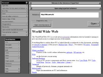 Первый веб-сайт в истории