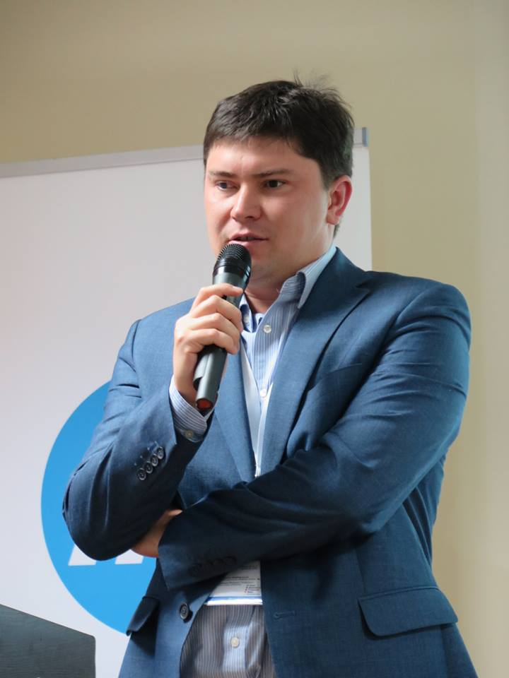 Serhii Shatskyi, the NBU's director for payments and innovations