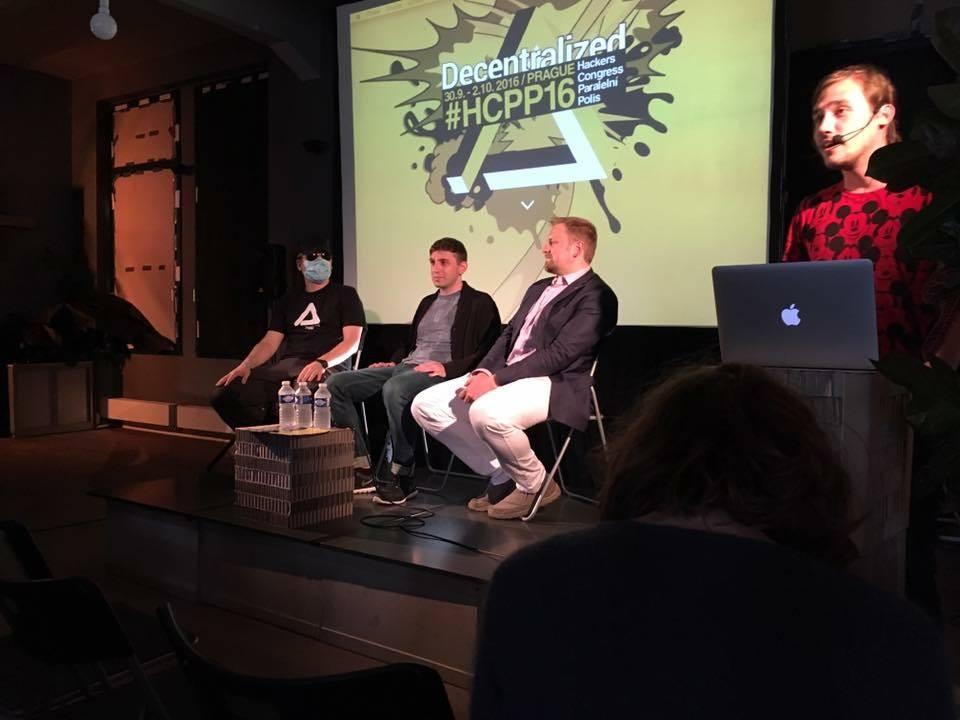 Криптопанк Франк Бауер, Лаша Антадзе и президент Либерленда Вит Едличка