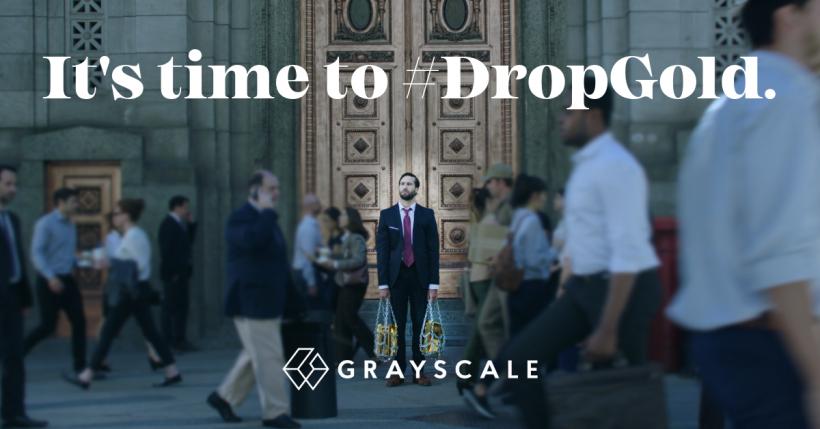 «Битва началась»: Grayscale Investments выпустила видеорекламу с призывом избавиться от золота