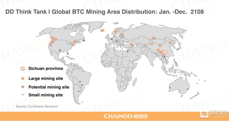 Большая часть хешрейта сети биткоина по-прежнему контролируется компанией Bitmain