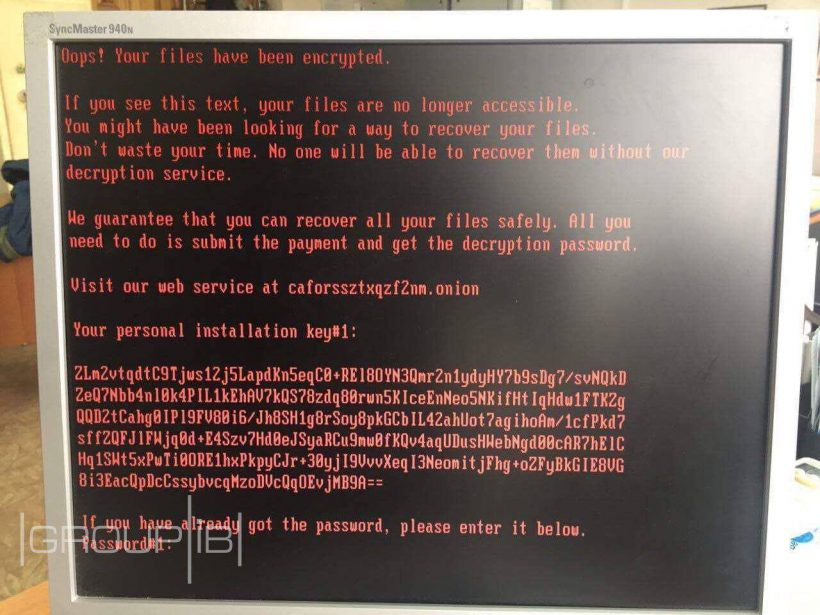 Украину и Россию атаковал Bad Rabbit: хакеры вымогают 0,05 BTC за расшифровку файлов
