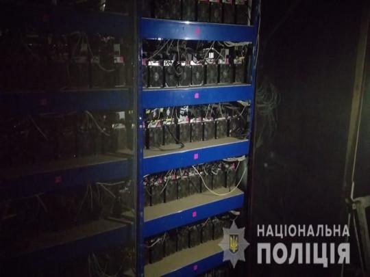 В заброшенном совхозе на юге Украины обнаружена крупная майнинговая ферма