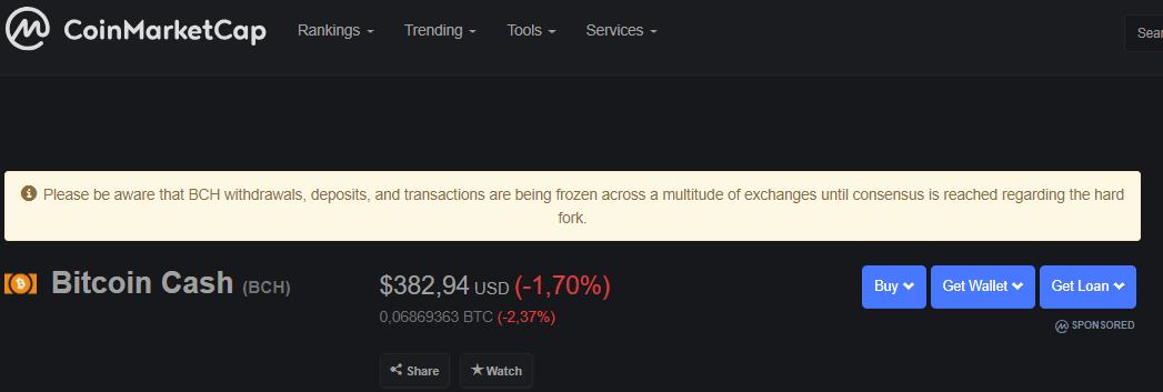 Хардфорк Bitcoin Cash, обвал рынка и другие ключевые события недели