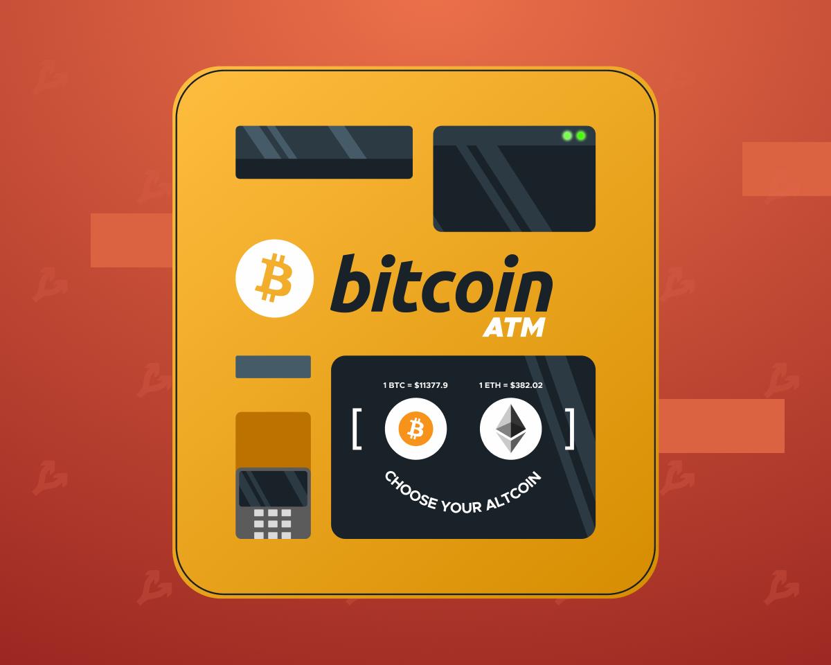Количество биткоин-банкоматов в мире превысило 10 000 единиц