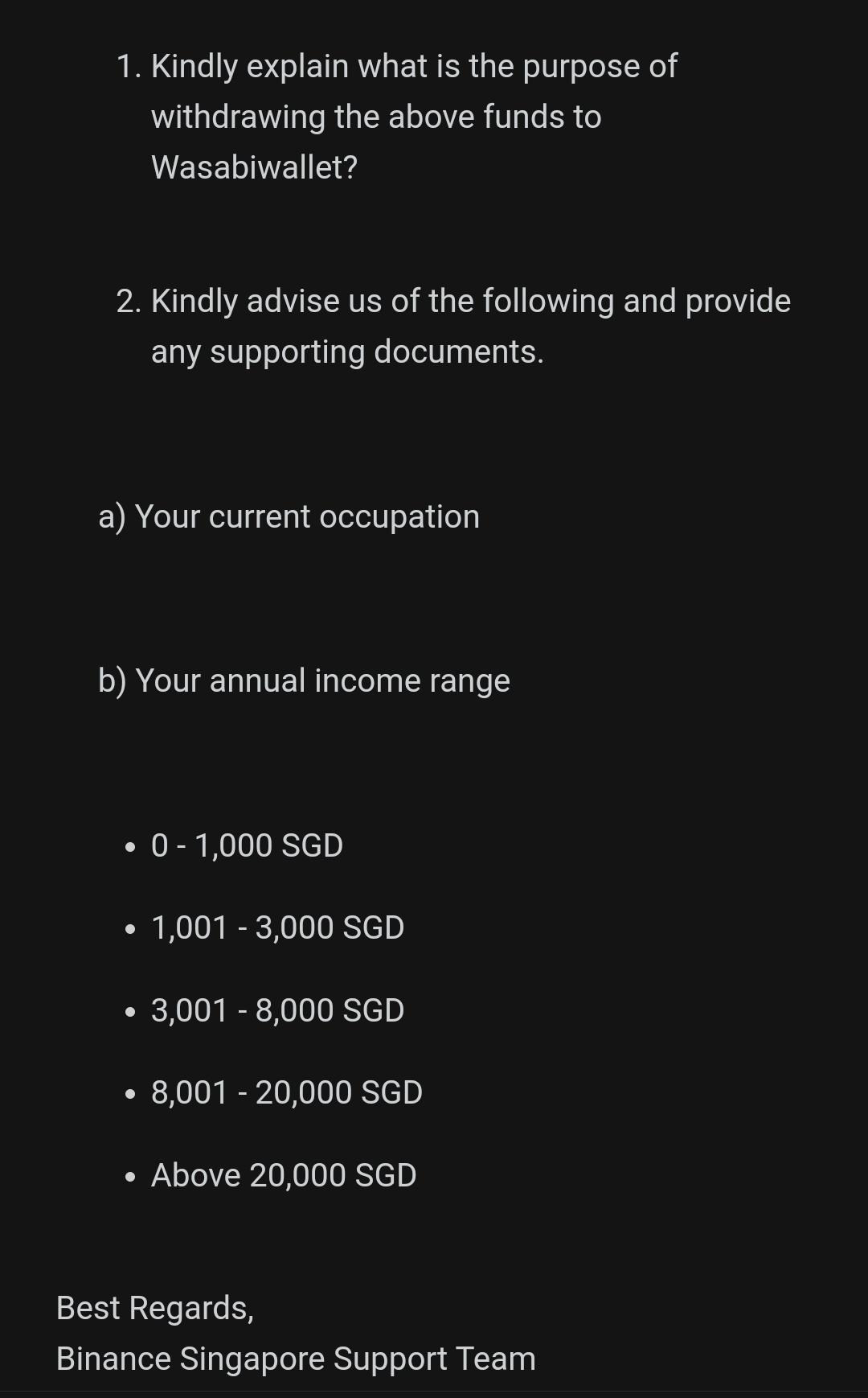 bitcoin deposito binance sospeso