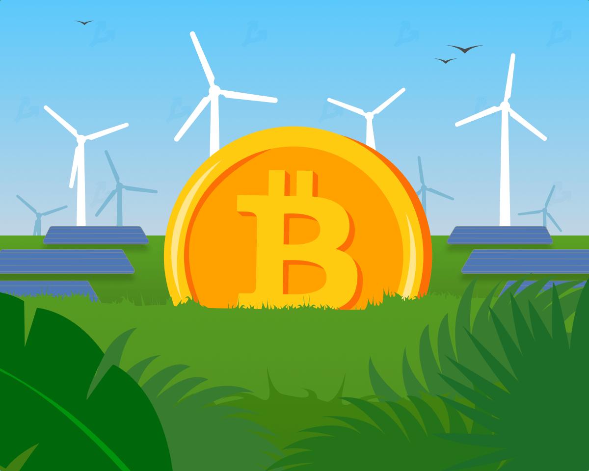 Исследование: доля «зеленой» энергии в индустрии биткоин-майнинга составила 56%