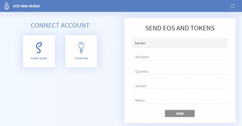 Состоялся релиз криптокошелька EOSWebWallet.io