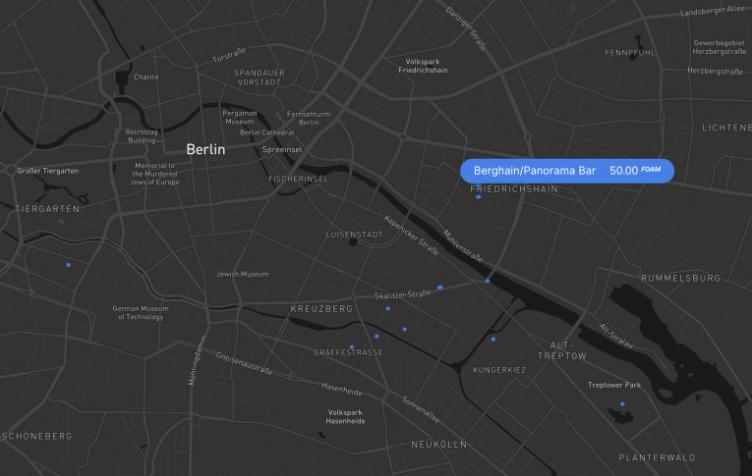 В сети Ethereum появилась интерактивная блокчейн-карта мира