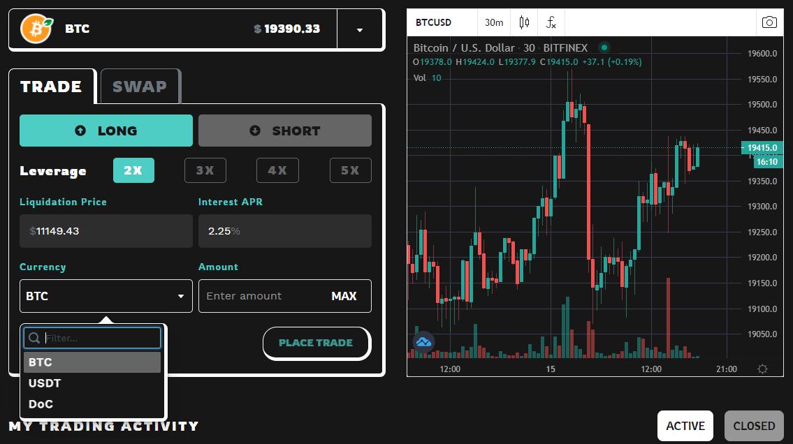 Разработчики Sovryn запустили биткоин-DEX на базе RSK