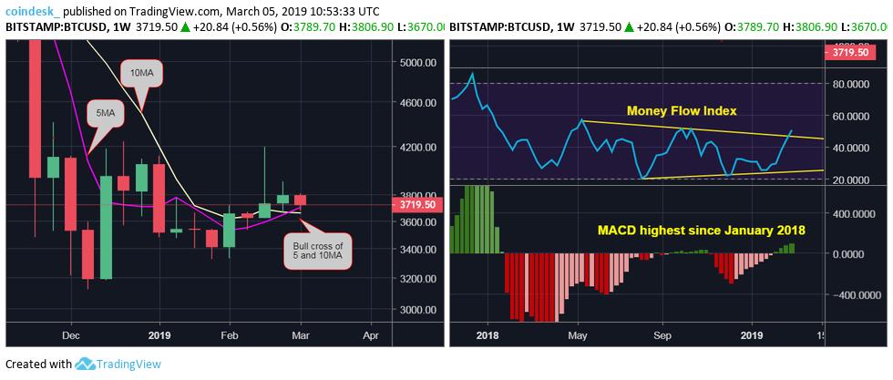 Цена биткоина упала до значений ноября прошлого года