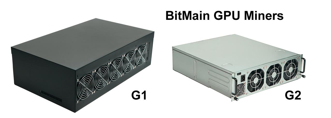 Bitmain представила GPU-майнеры, состоящие из видеокарт AMD и NVIDIA