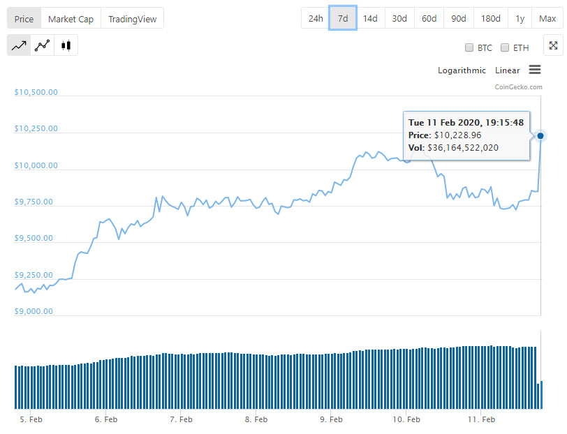 Цена биткоина обновила максимум 2020 года