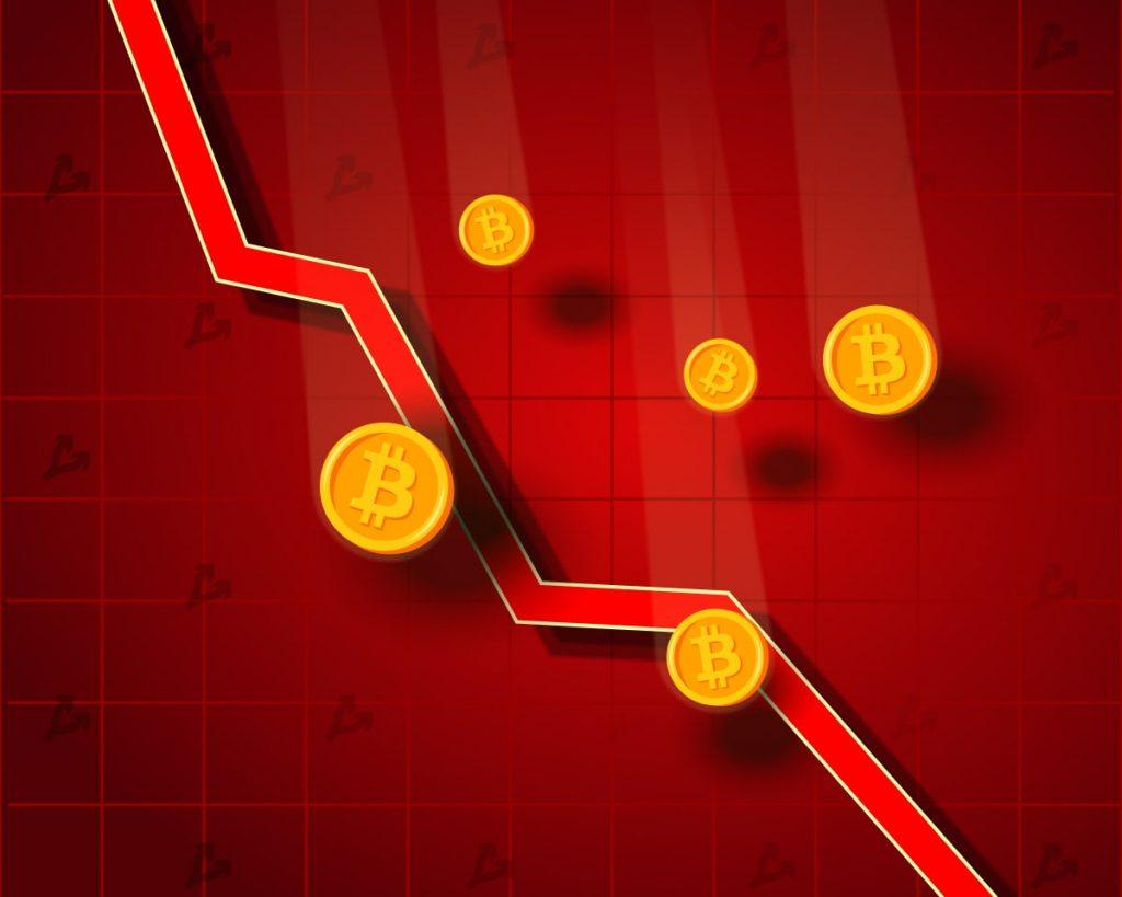 Цена биткоина упала ниже $33 000. Капитализация рынка снизилась до $972 млрд