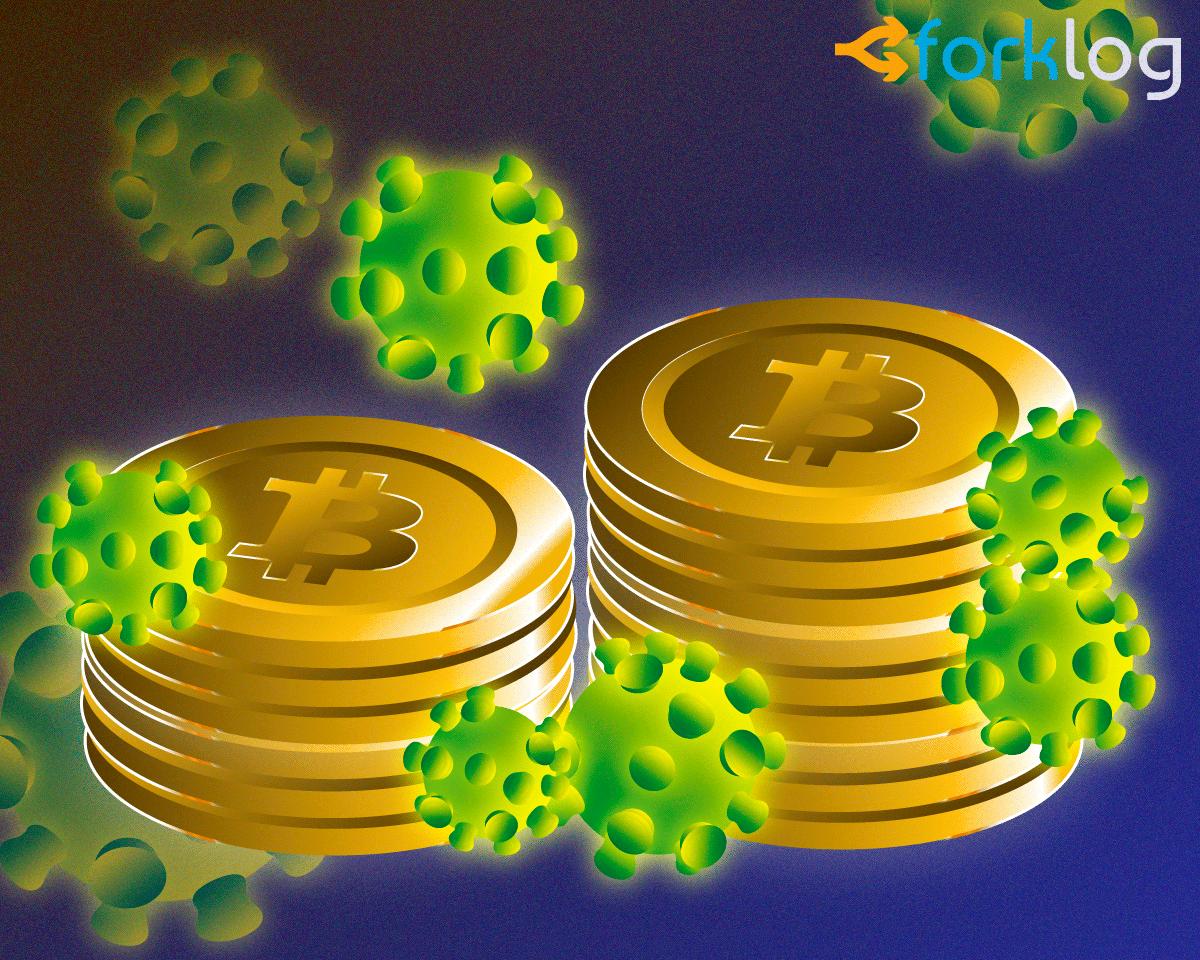 coronavirus bitcoin cover - Вилли Ву: ралли биткоина сорвалось из-за COVID-19, но новый рывок впереди