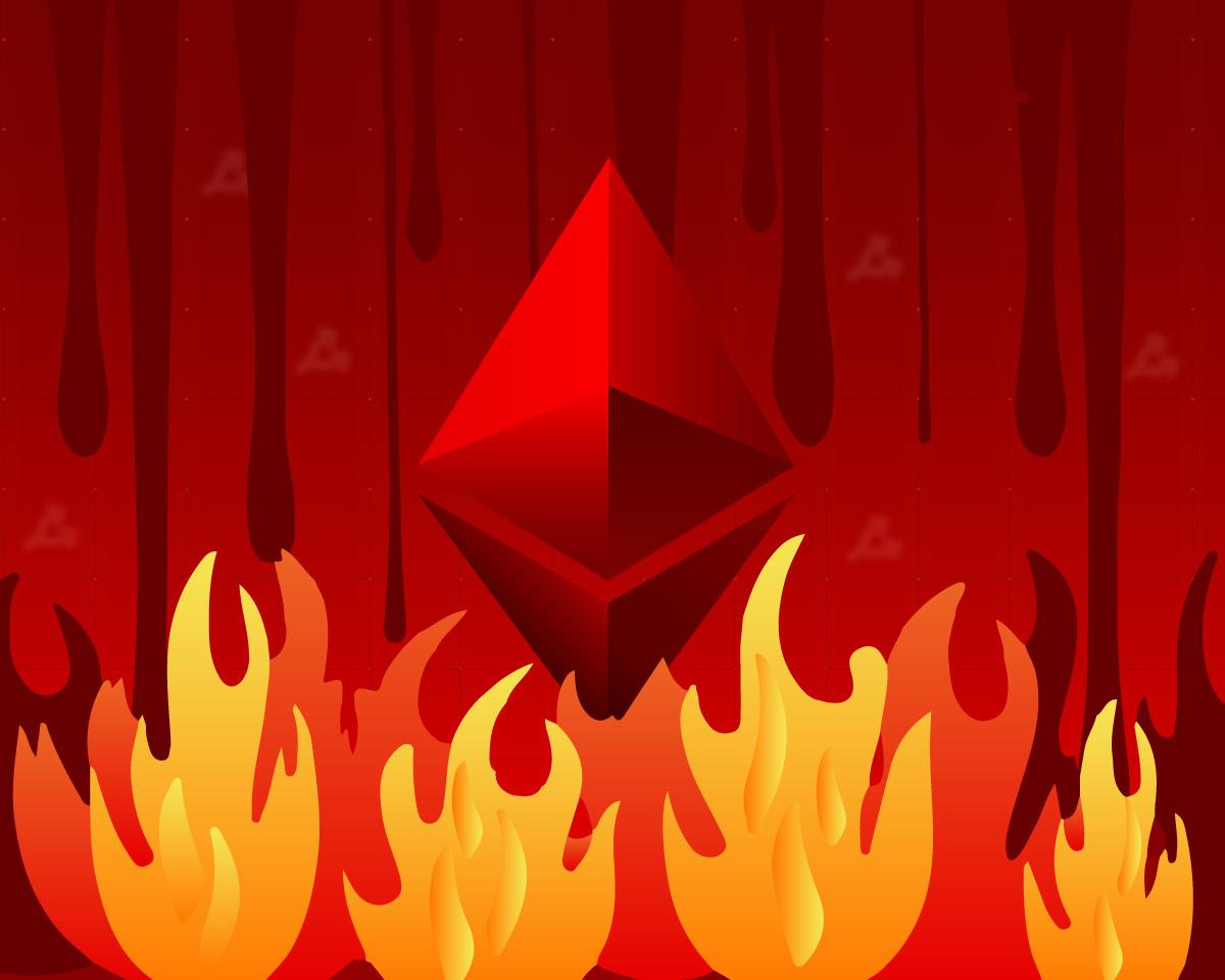 Ончейн-активность Ethereum снизилась. Это отразилось на сегменте DeFi