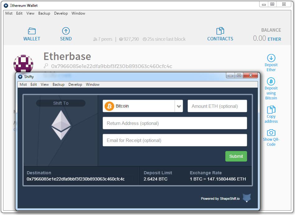 ethereum wallet account