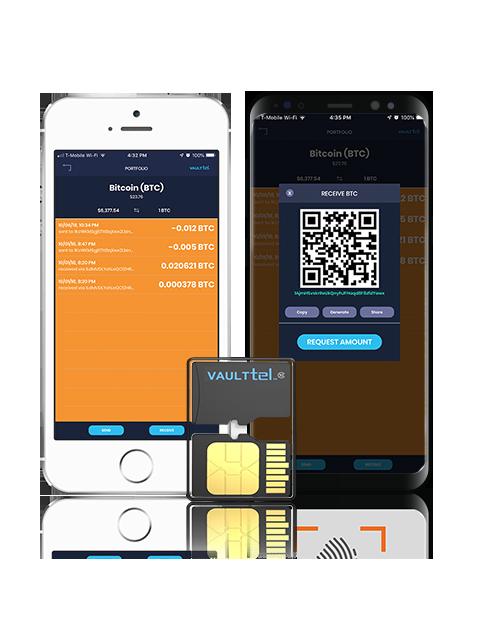 VaultTel представил аппаратный криптокошелек размером с SIM-карту