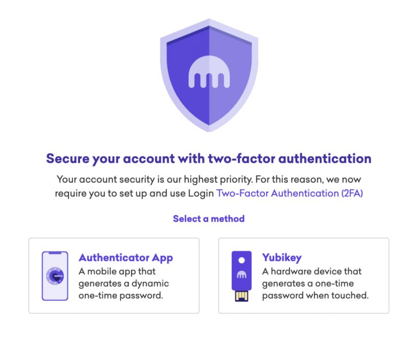 Биткоин-биржа Kraken обязала пользователей включить 2FA и создала подразделение по безопасности