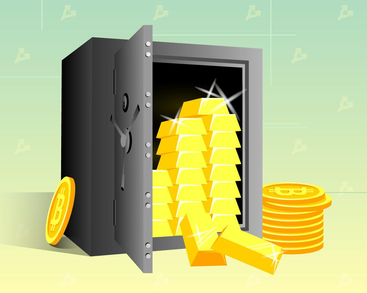 Deutsche Bank: инвесторы все чаще предпочитают биткоин золоту