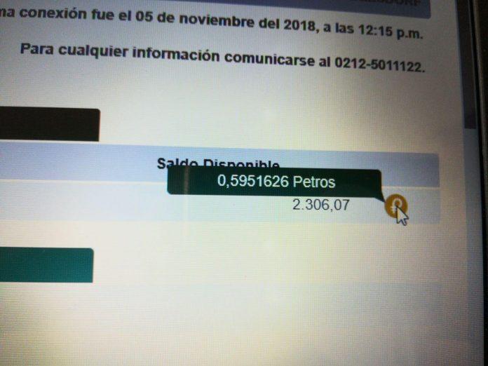 Венесуэльские банки начали отображать в El Petro состояние счетов пользователей