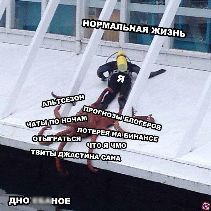 Злоключения трейдера Монеткина: ностальгические мемы про ушедший 2019 год