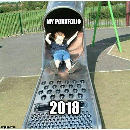 Будем падать, пока не вырастем: даунтренд-2018 в мемах