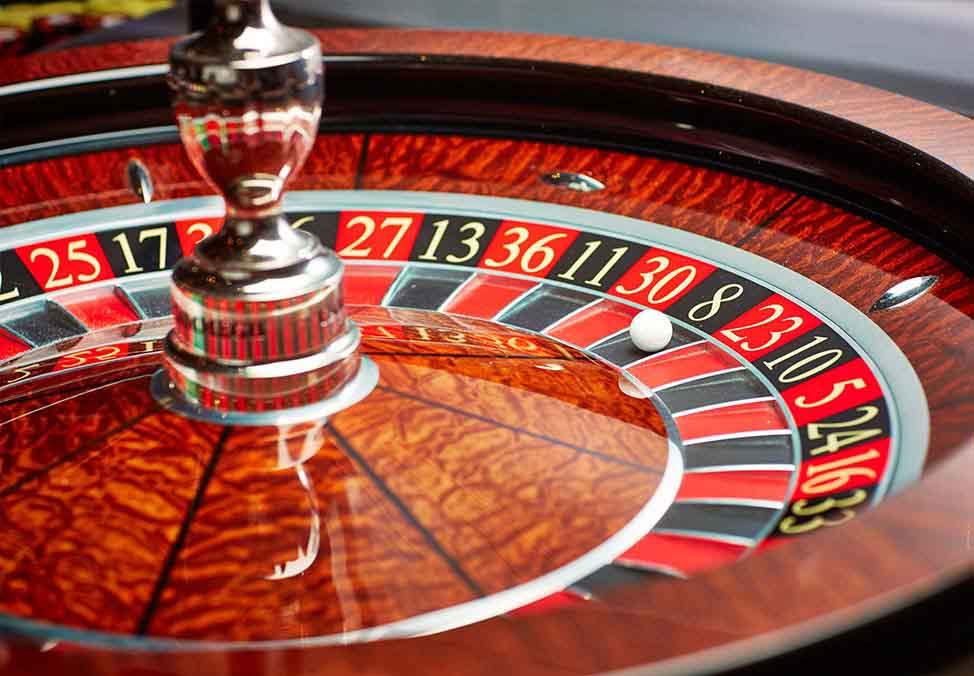Roulette de casino a vendre