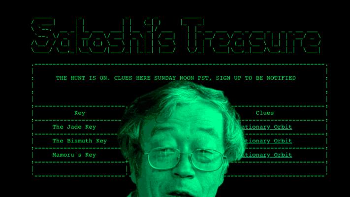 Стартовала глобальная игра Satoshi's Treasure. Победителю достанется  млн