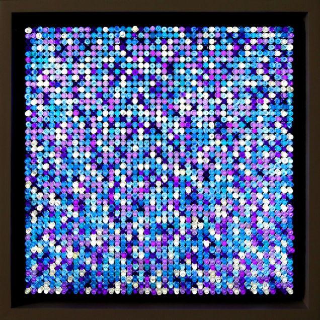 Художник из Лос-Анджелеса зашифровал  000 в секретных криптовалютных кодах в картинах из Lego