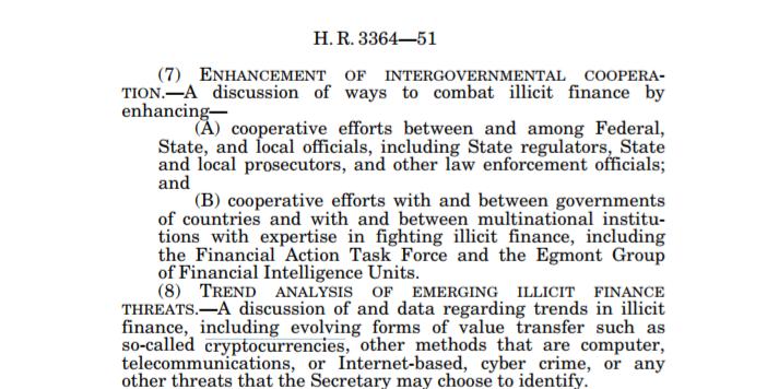 В новом законе США о санкциях против России упомянуто использование криптовалют